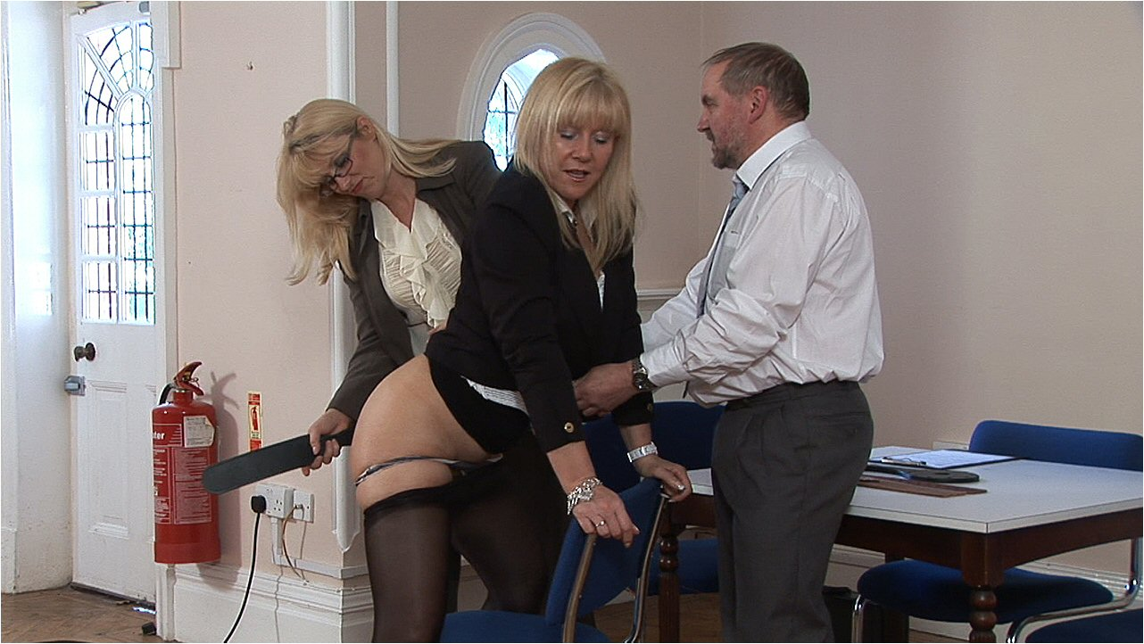 Strapping and paddling for a sassy girl spanking 5
