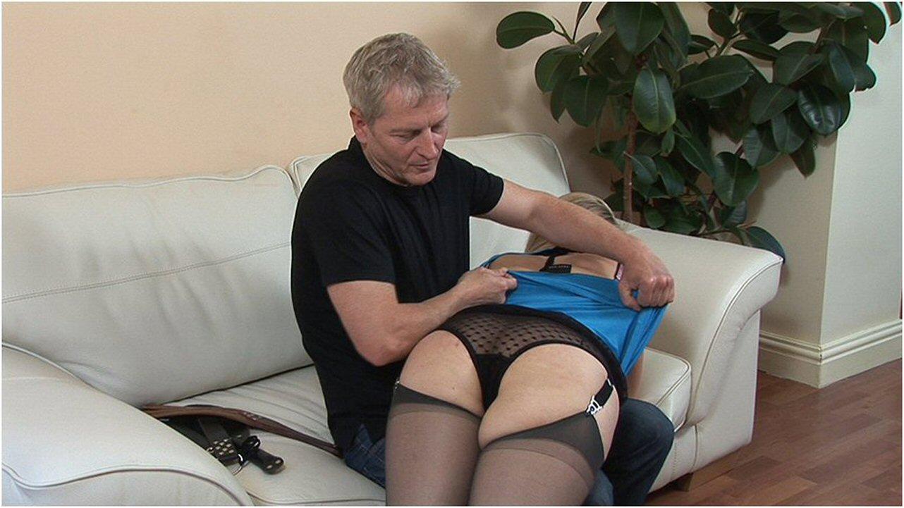 spanking video