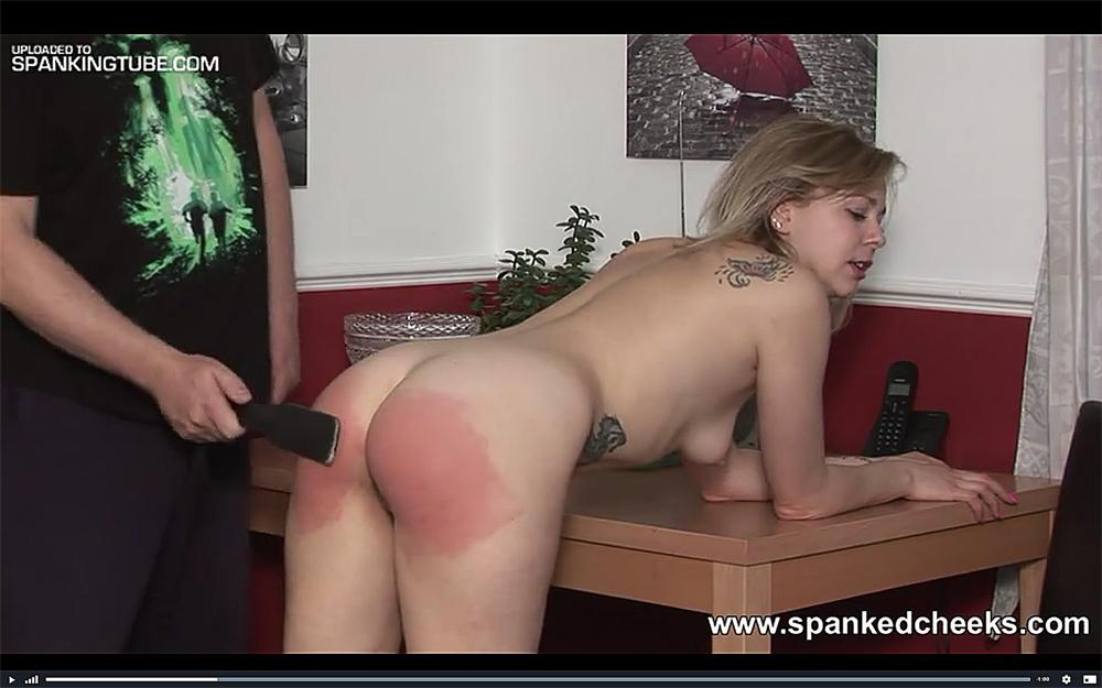 spanking spanked