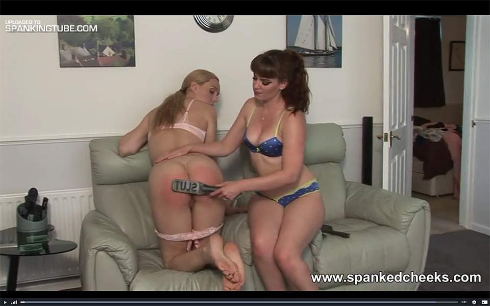 spanking spanking spanking