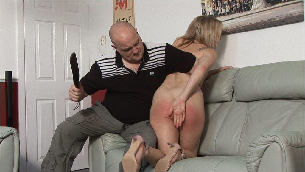 spanking spanking spanked cheeks
